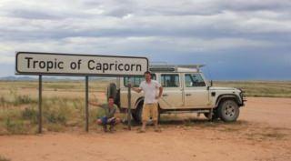 Namibië in Vogelvlucht