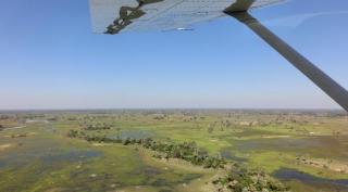 Botswana fly-in laagseizoen