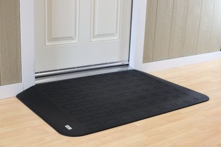 EZEdge™ Transition Wheelchair Ramps Are Most Often Used For Door Thresholds,  Sliding Glass Doors, Entry Ways, Or Any Other Transitions That Impede A  Free ...