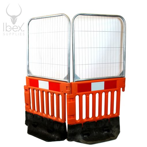 Strongwall Barriers With Fence