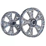 Buy ALLOY WHEEL SET FOR RE CLASSIC FATBOY HARLEY GUN PRINTING KINGWAY on  % discount