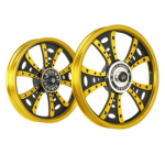 Buy ALLOY WHEEL SET FOR RE STANDARD GOLDEN FATBOY HARLEY KINGWAY on 5.00 % discount