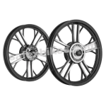 Buy ALLOY WHEEL SET FOR RE ELECTRA BLACK YMODEL HARLEY KINGWAY on  % discount