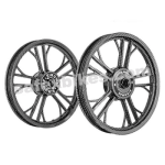 Buy ALLOY WHEEL SET FOR RE ELECTRA PRINTING 2 YMODEL HARLEY KINGWAY on  % discount