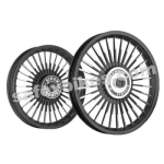 Buy ALLOY WHEEL SET FOR RE CLASSIC BLACK 30SPOKES HARLEY KINGWAY on  % discount