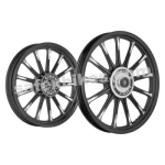 Buy ALLOY WHEEL SET FOR RE ELECTRA BLACK 13SPOKES HARLEY KINGWAY on  % discount