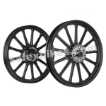 Buy ALLOY WHEEL SET FOR RE ELECTRA COMPLETE BLACK 13SPOKES HARLEY KINGWAY on  % discount