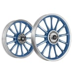 Buy ALLOY WHEEL SET FOR RE CLASSIC FROST BLUE 13SPOKES HARLEY KINGWAY on 5.00 % discount