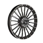 Buy ALLOY WHEEL (REAR) FOR RE CLASSIC BLACK 20SPOKES WAVE HARLEY TYPE 2 KINGWAY on  % discount