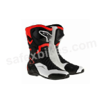Buy ALPINESTARS SMX 6 V2 BOOTS (BLACK,WHITE,FLUO RED) UNIVERSAL on  % discount