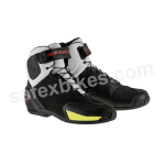 Buy ALPINESTARS FASTER VENTED SHOES (BLACK,WHITE,YELLOW FLUO) UNIVERSAL on  % discount