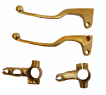 Buy BRASS ELECTRA LEVER SET FOR ROYAL ENFIELD ZADON on 15.00 % discount