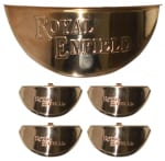 Buy BRASS INDICATOR CAP (set of 4) AND HEADLIGHT CAP FOR ROYAL ENFIELD BULLET ZADON on  % discount