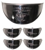 Buy CHROME PLATED INDICATOR CAP (set of 4) AND HEADLIGHT CAP FOR ROYAL ENFIELD BULLET ZADON on  % discount