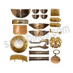 Buy BRASS COMPLETE ACCESSORIES KIT FOR BULLET ROYAL ENFIELD SET OF 21 ZADON on  % discount