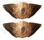 Buy Petrol Tank Monogram Wings Royal Enfield( Live To Ride) on  % discount