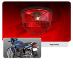 Buy TAIL LAMP LENS PLATINA FIEM on 0 % discount