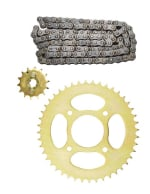 Buy CHAIN SPROCKET KIT DISCOVER100 CC/112CC (4 HOLE) ZADON on  % discount