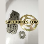 Buy CHAIN SPROCKET KIT ZEUS ZADON on  % discount