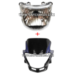 Buy FRONT FAIRING WITH HEAD LIGHT ASSY GLAMOUR ZADON on  % discount