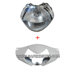 Buy FAIRING FRONT WITH HEAD LIGHT ASSY AVIATOR ZADON on 15.00 % discount