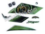 Buy COMPLETE STICKER KIT R15 LIMITED EDITION ZADON on  % discount