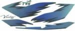 Buy COMPLETE STICKER KIT TVS VICTOR O/M ZADON on  % discount