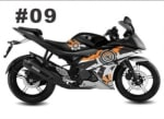 Buy CUSTOM STICKER KIT FOR YAMAHA R15 VERSION 2 ZADON on  % discount