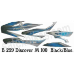 Buy COMPLETE STICKER KIT DISCOVER100 CC ZADON on 25.00 % discount