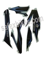 Buy COMPLETE STICKER KIT DISCOVER150 CC H1 ZADON on  % discount