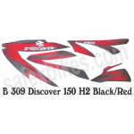 Buy COMPLETE STICKER KIT DISCOVER150 CC H2 ZADON on  % discount