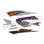 Buy COMPLETE STICKER KIT HONDA SHINE TYPE 1 ZADON on  % discount