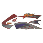 Buy COMPLETE STICKER KIT HONDA SHINE TYPE 1 ZADON on 15.00 % discount