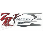 Buy COMPLETE STICKER KIT KARIZMA ZMR ZADON on  % discount