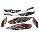 Buy COMPLETE STICKER KIT DUKE 390 ZADON on  % discount