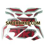 Buy COMPLETE STICKER KIT GIXXER SF ZADON on  % discount