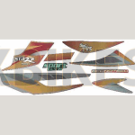 Buy COMPLETE STICKER KIT STAR SPORTS ZADON on 15.00 % discount