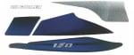 Buy COMPLETE STICKER KIT PULSAR150 CC UG 4.5 ZADON on  % discount