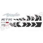 Buy COMPLETE STICKER KIT APACHE RTR180 ZADON on  % discount