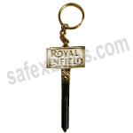 Buy BRASS KEY CHAIN ROYAL ENFIELD D5 ZADON on  % discount