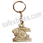 Buy BRASS KEY CHAIN ROYAL ENFIELD D9 ZADON on 15.00 % discount