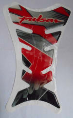 Buy PETROL TANK EPOXY STICKER PULSAR RED/BLACK ZADON on  % discount