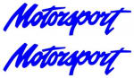 Buy MOTORSPORT FANCY STICKER (8 INCHES x 3 INCHES) on  % discount