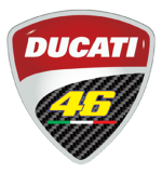 Buy DUCATI 46 BRANDING STICKER (SET OF TWO) ZADON on  % discount