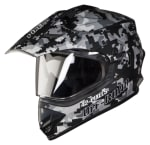 Buy FULL FACE HELMET SB-42 BANG PIXELS MAT BLACK WITH GREY (600MM) STEELBIRD on 5.00 % discount