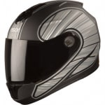 Buy FULL FACE HELMET  SBH-11 VISION RAYS BLACK WITH GREY  HIGN on 5.00 % discount