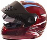 Buy HELMET SB-3 STEELBIRD FULL FACE DELTA WINE RED on  % discount