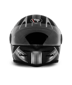 Buy Vega - Full Face Helmet - Formula HP Warrior ( Dull Black Base with Silver Graphics) on 0 % discount