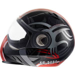 Buy STEELBIRD-MODULAR FULL FACE HELMET SB-2020 GRAPHIC 6M FREEZE (BLACK & RED) (60 CM) on  % discount