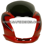 Buy FRONT FAIRING (VISOR) PASSION PRO UB WITH OET GLASS ZADON on  % discount